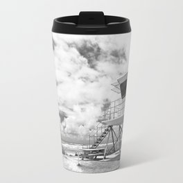 Lifeguard tower in Kauai, Hawaii Travel Mug
