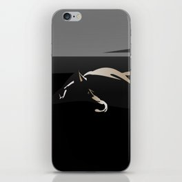 Silhouette of a Dog iPhone Skin