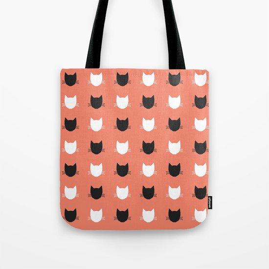 Cat Pattern 02 Tote Bag