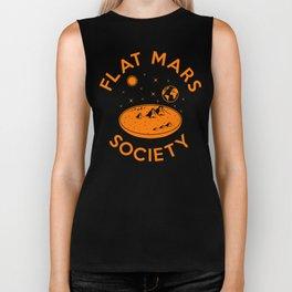 Flat mars society Biker Tank