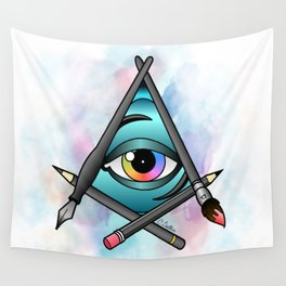 Creative Eye Wall Tapestry