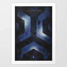 The Shining alternative movie poster Art Print