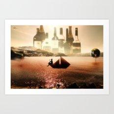 On Stranger Tides Art Print