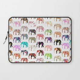Floral Herd Laptop Sleeve