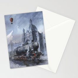 A train to Lwow Stationery Cards