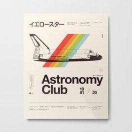 Astronomy Club Metal Print