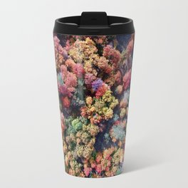 FOREST - AUTUMN - COLORS - PHOTOGRAPHY - NATURE Travel Mug