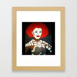 Grace Jones as Katrina Framed Art Print