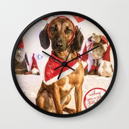 Lucy the naughty Reindeer... Wall Clock