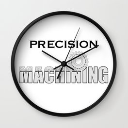 Precision Machining Wall Clock