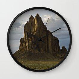 Shiprock, New Mexico. Wall Clock