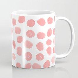 Natalia - abstract dot painting dots polka dot minimal modern gender neutral art decor Coffee Mug