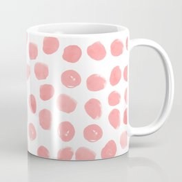 Natalia - abstract dot painting dots polka dot minimal modern gender neutral art decor Coffee Mug