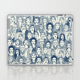 WOMEN OF THE WORLD BLUE Laptop & iPad Skin