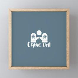 Game On Framed Mini Art Print
