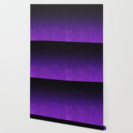 Purple & Black Glitter Gradient Wallpaper