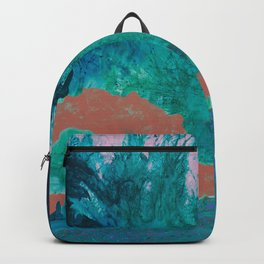 Cat in the forest Backpack