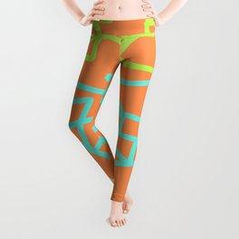 Orange Soda  Leggings