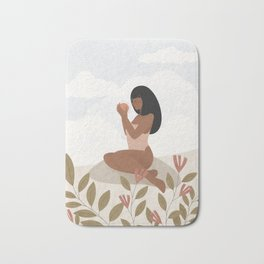 Passion is energy. Feel the power. Bath Mat