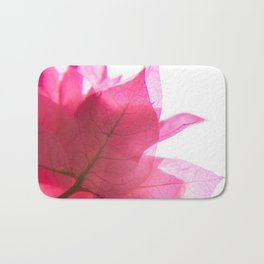 Bright Bougainvillea Bath Mat