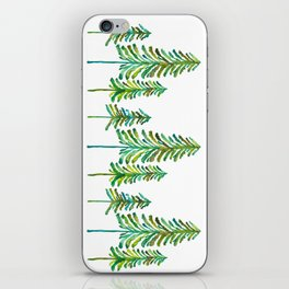 Pine Trees – Green Palette iPhone Skin