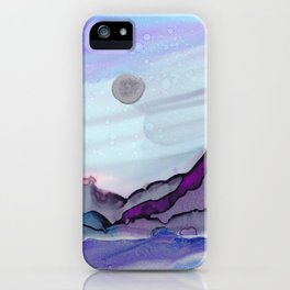 Glacial Sunset iPhone Case