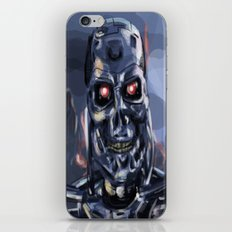 Speed Portraits: Terminator T-800 iPhone & iPod Skin