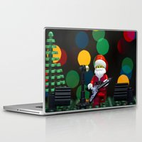 concert Laptop & iPad Skins featuring Santa's Concert by Pedro Nogueira