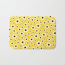 Dizzy Daisies - Yellow - more colors Bath Mat