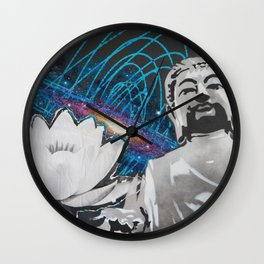Metaphysical Magnetism  Wall Clock