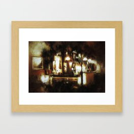 A Night in Seville Framed Art Print
