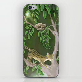 Quiet Curiousity iPhone Skin