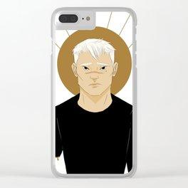 shiro | white Clear iPhone Case
