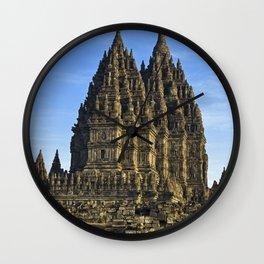 Prambanan Temple Wall Clock