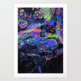 GWENDOLYNN'S APPREHENSION Art Print