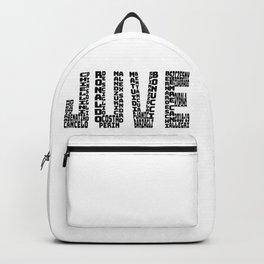 Juventus 2018-2019 - Black Text JUVE Backpack