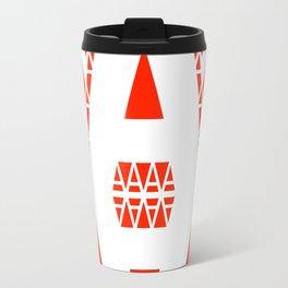 White A Travel Mug