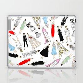 Audrey Hepburn Fashion (Scattered) Laptop & iPad Skin