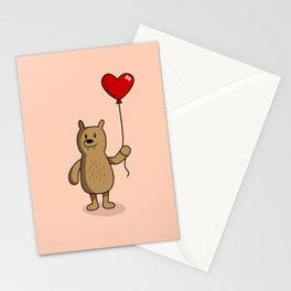 Heart Bears Stationery Cards