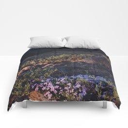 Wildflowers at Dawn Comforters