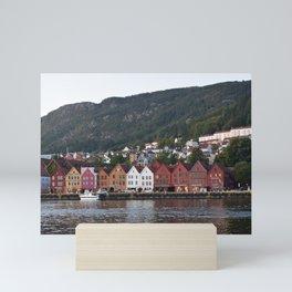 Bergen, Norway Mini Art Print