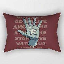 Stars Within Us Rectangular Pillow