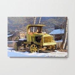 1912 Chevrolet work truck Metal Print