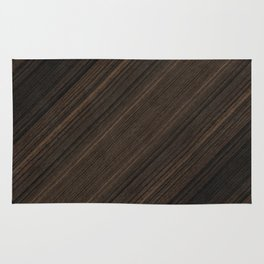 Ebony Macassar Wood Rug