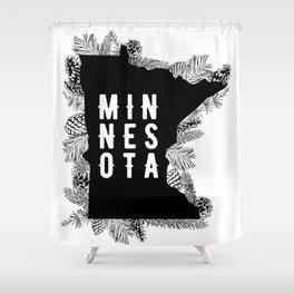 Minnesota Pine Shower Curtain