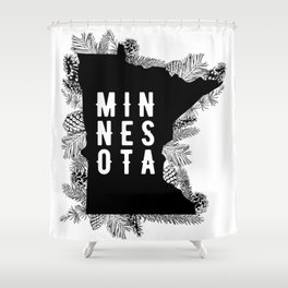 Minnesota Pine Shower Curtain