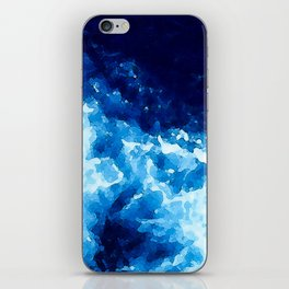 The Deep Blue Sea iPhone Skin