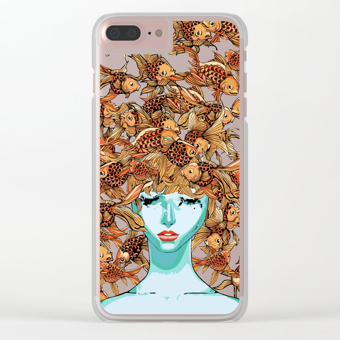 Head up, love Clear iPhone Case