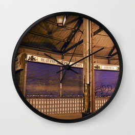 MERCATO ANTICO - VALENCIA - ESPANA Wall Clock
