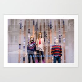 A collection of 3 Art Print